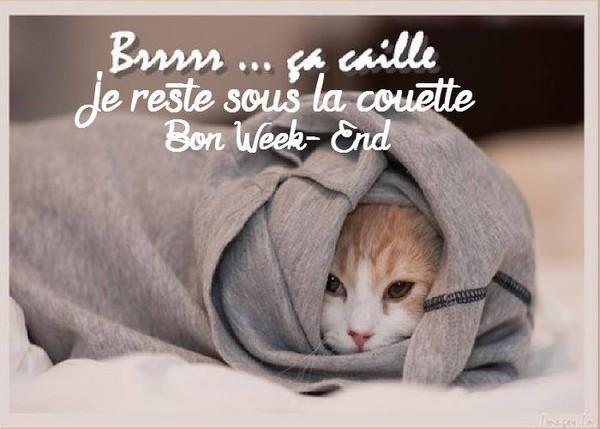 Bon weekend a tous!(cadeau du blog)